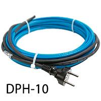 Нагревательный кабель для обогрева труб DPH-10