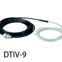 Нагревательный кабель для обогрева труб DTIV-9