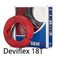 Нагревательный кабель для теплого пола deviflex 18T