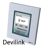 Беспроводная сенсорная система управления терморегуляторами Devilink