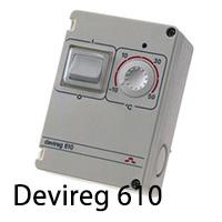Терморегулятор для систем обогрева труб devireg 610